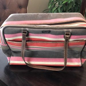 B1G1 SALE💋Canvas Kate Spade ♠️ Travel Bag